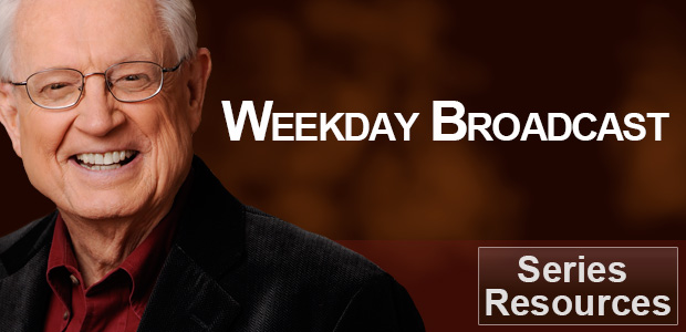 Weekday Broadcast with Chuck Swindoll