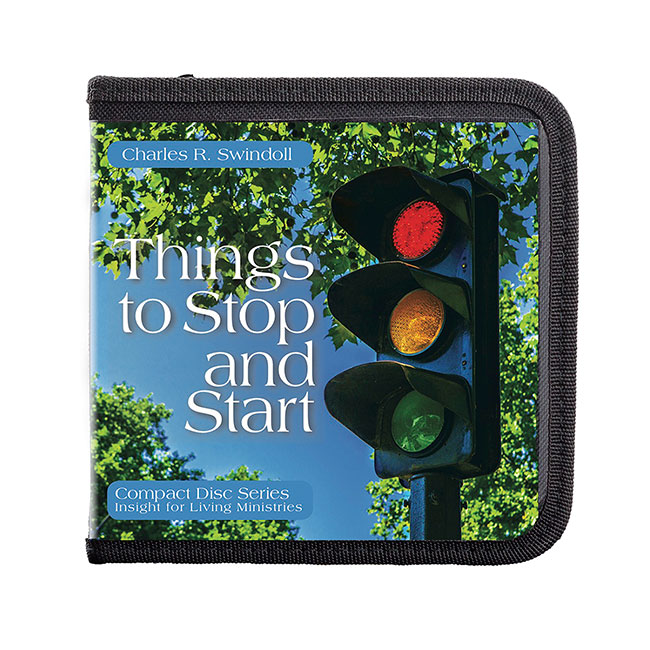 Series: Things to Stop and Start