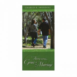 APPLYING GRACE TO MARRIAGE, booklet