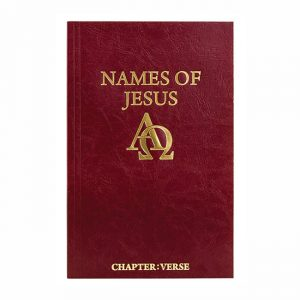 NAMES OF JESUS, paperback book