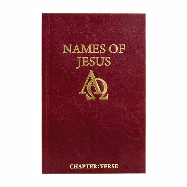 NAMES OF JESUS, paperback book