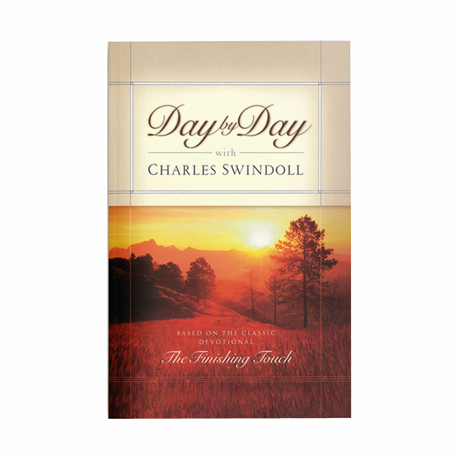 DAY BY DAY WITH CHARLES SWINDOLL, paperback book