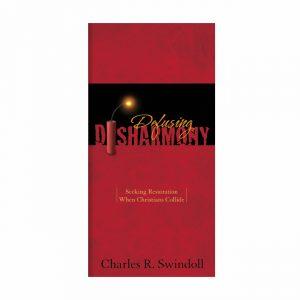 DEFUSING DISHARMONY, booklet