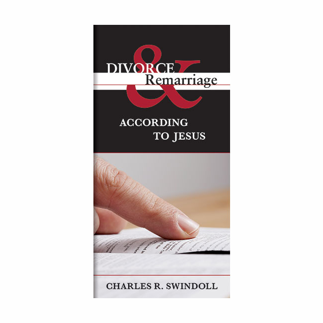 DIVORCE AND REMARRIAGE ACCORDING TO JESUS, booklet
