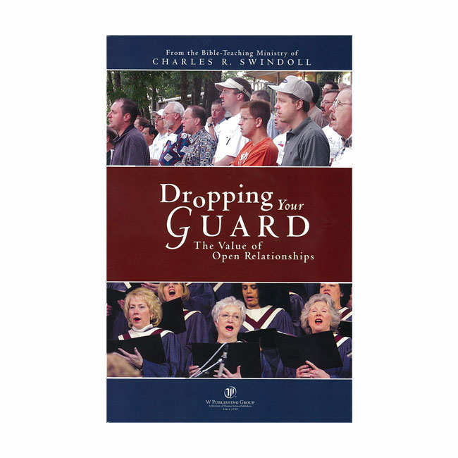 DROPPING YOUR GUARD, paperback book