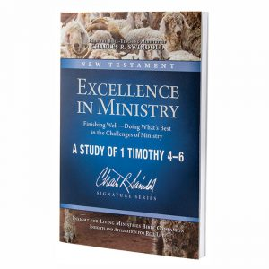 EXCELLENCE IN MINISTRY: Finishing Well - Doing What's Best in the Challenges of Ministry, Bible Companion