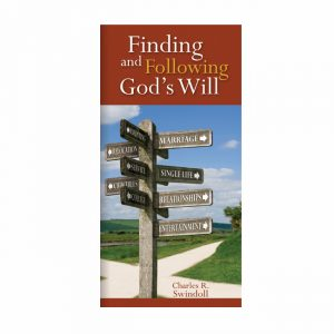 FINDING AND FOLLOWING GOD'S WILL, booklet