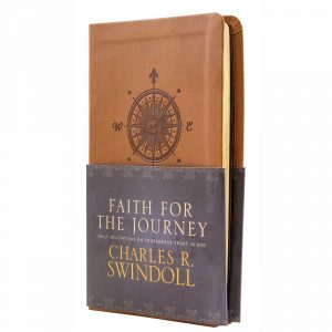FAITH FOR THE JOURNEY: Daily Meditations on Courageous Trust in God, LeatherLike book