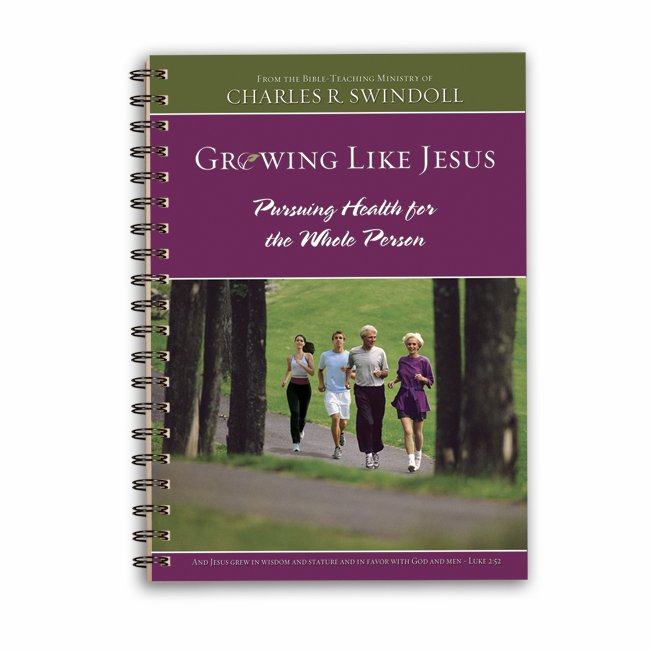 GROWING LIKE JESUS, paperback book