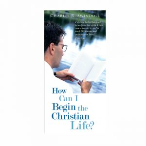 HOW CAN I BEGIN THE CHRISTIAN LIFE?, booklet