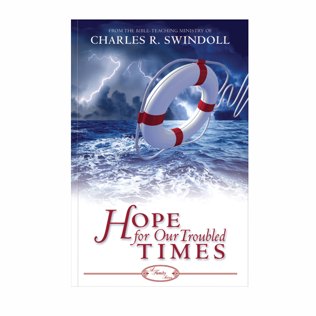 HOPE FOR OUR TROUBLED TIMES, paperback book