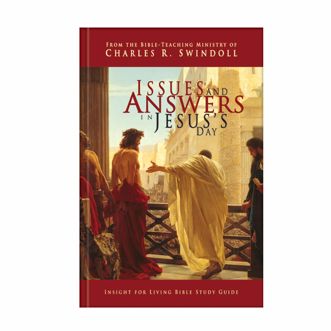 ISSUES AND ANSWERS IN JESUS'S DAY, Study Guide