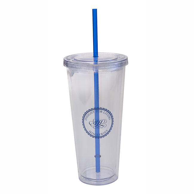 INSIGHT FOR LIVING MINISTRIES WATER TUMBLER