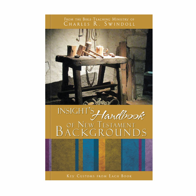 INSIGHT'S HANDBOOK OF NEW TESTAMENT BACKGROUNDS: Key Customs from Each Book