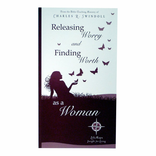 LIFEMAPS 5: RELEASING WORRY AND FINDING WORTH AS A WOMAN, paperback book