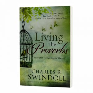 LIVING THE PROVERBS: Insight for the Daily Grind, paperback book
