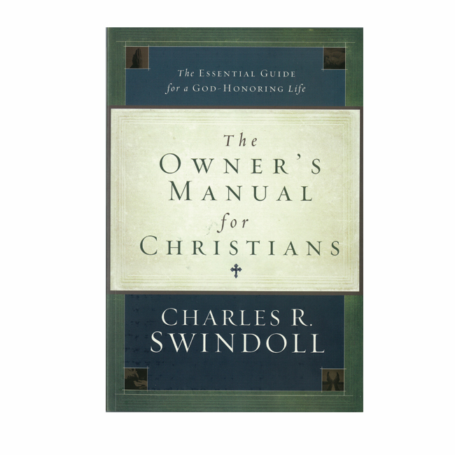 THE OWNER'S MANUAL FOR CHRISTIANS, paperback book