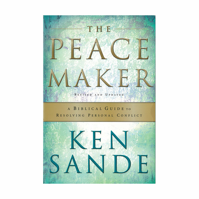 THE PEACEMAKER by Ken Sande, paperback book