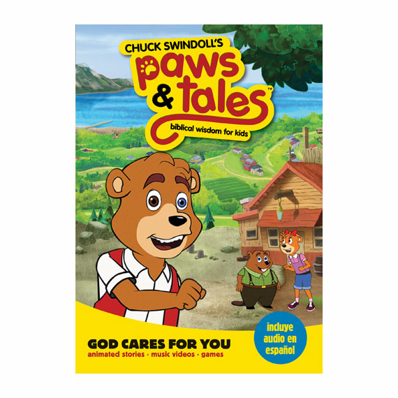 PAWS & TALES: BIBLICAL WISDOM FOR KIDS - God Cares for You, DVD