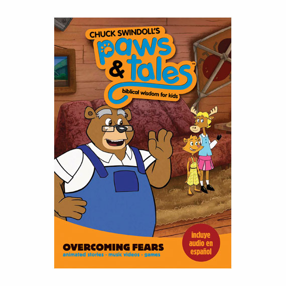 PAWS & TALES: BIBLICAL WISDOM FOR KIDS - Overcoming Fears, DVD