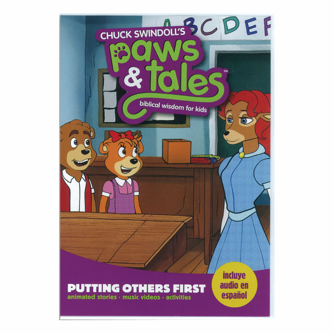 PAWS & TALES: BIBLICAL WISDOM FOR KIDS - Putting Others First, DVD