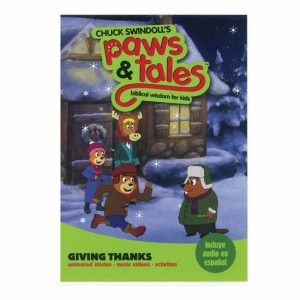 PAWS & TALES: BIBLICAL WISDOM FOR KIDS - Giving Thanks, DVD