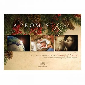 A PROMISE KEPT: A Pictorial Journey of the Coming of Christ, paperback book
