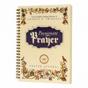 PASSIONATE PRAYER: A Prayer Journal, spiral-bound paperback book