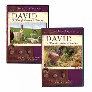 DAVID: A MAN OF PASSION AND DESTINY, PARTS 1 & 2 set, RADIO DRAMA PRODUCTION