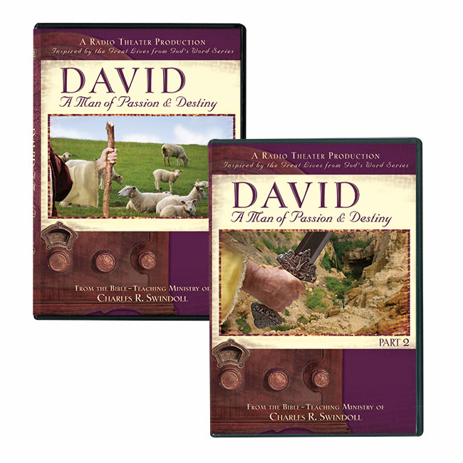 DAVID: A MAN OF PASSION AND DESTINY, PARTS 1 & 2 set, RADIO DRAMA PRODUCTION