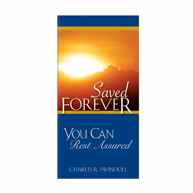 SAVED FOREVER, booklet