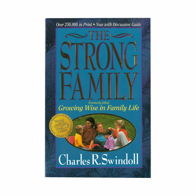 THE STRONG FAMILY, paperback book