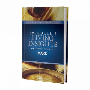 SWINDOLL'S LIVING INSIGHTS NEW TESTAMENT COMMENTARY: MARK, hardback book