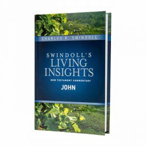 SWINDOLL'S LIVING INSIGHTS NEW TESTAMENT COMMENTARY: JOHN, hardback book