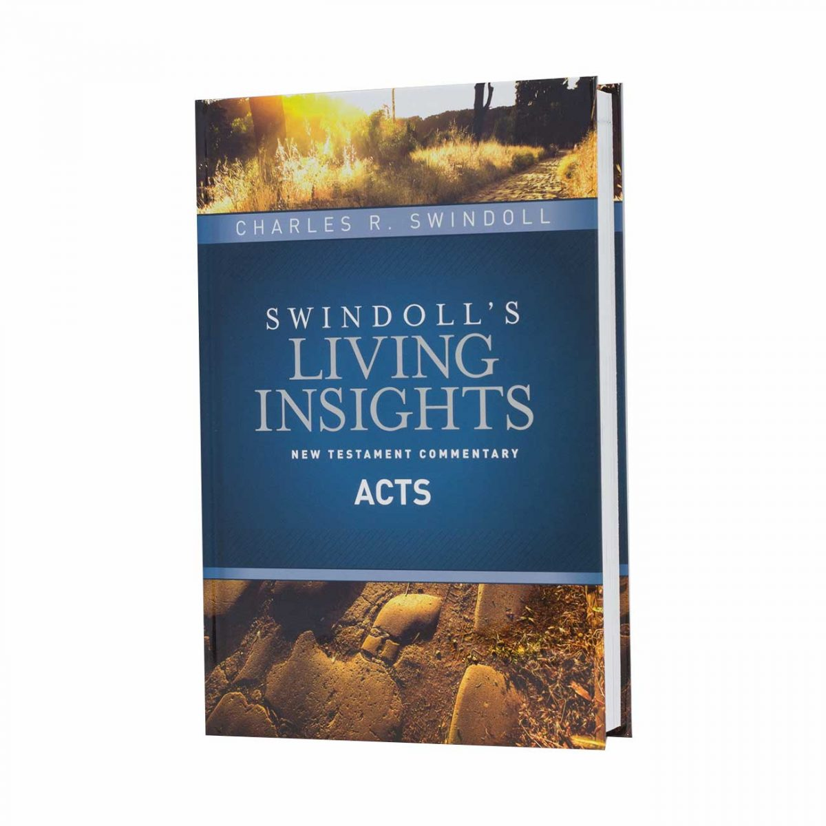 SWINDOLL'S LIVING INSIGHTS NEW TESTAMENT COMMENTARY: ACTS, hardback book