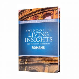 SWINDOLL'S LIVING INSIGHTS NEW TESTAMENT COMMENTARY: ROMANS, hardback book