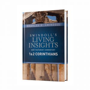 SWINDOLL'S LIVING INSIGHTS NEW TESTAMENT COMMENTARY: 1 & 2 CORINTHIANS, hardback book