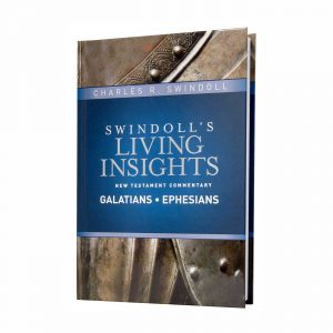 SWINDOLL'S LIVING INSIGHTS NEW TESTAMENT COMMENTARY: GALATIANS AND EPHESIANS, hardback book