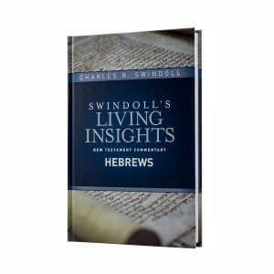 SWINDOLL'S LIVING INSIGHTS NEW TESTAMENT COMMENTARY: HEBREWS, hardback book