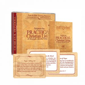 SCRIPTURE FOR PRACTICAL LIVING: 40 Verses for Spiritual Growth, Scripture Memory Set