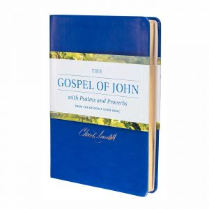 THE GOSPEL OF JOHN WITH PSALMS AND PROVERBS, LeatherLike