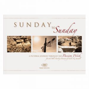 SUNDAY TO SUNDAY: A Pictorial Journey Through the Passion Week, paperback book
