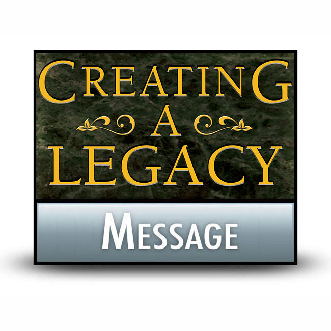 Creating a Legacy message