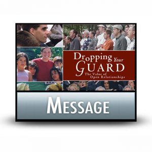 Dropping Your Guard message