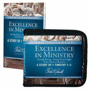 Excellence in Ministry: Starting Strong – Doing What's Right in the Work of Ministry