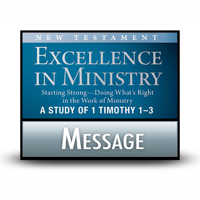 Excellence in Ministry: Starting Strong message