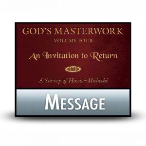 God's Masterwork Volume 4 message