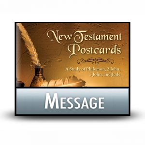 New Testament Postcards message