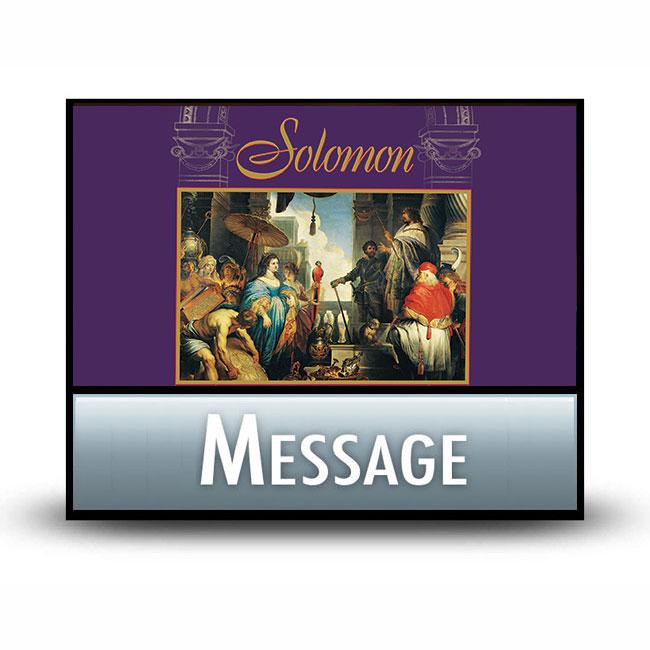 Solomon message