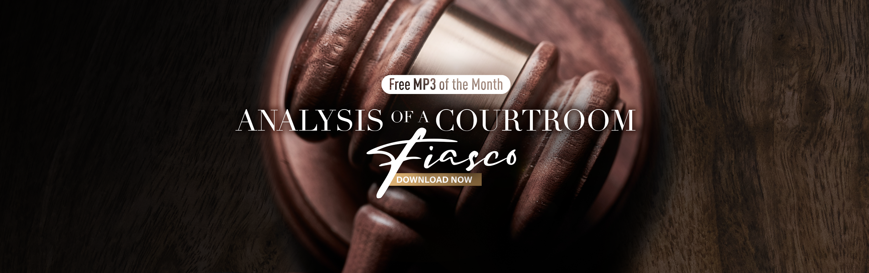 image of gavel for Courtroom Fiasco free MP3